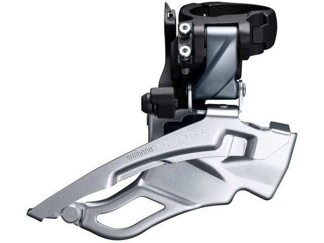 Shimano Deore Trekking FD-T6000 Umwerfer 3x10 Schelle hoch Down Swing silber